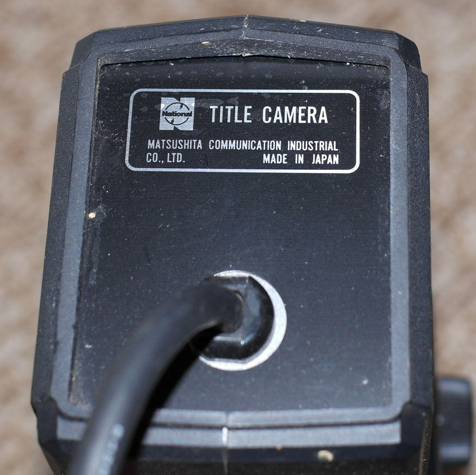 National - Title Camera